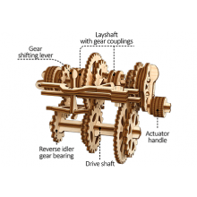 Gearbox Educational Mechanical Model Kit
