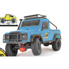 FTX Ranger XC 1:16th 4WD Ready To Run Pick Up Trail Vehicle - Blue