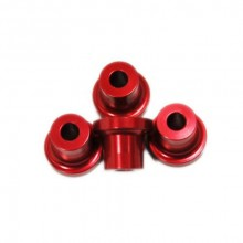 Stand Off - 15mm (5mm 10-24 Hole) (Red)