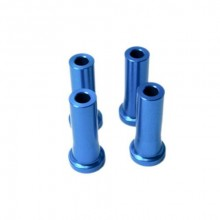Stand Off - 40mm (6mm 1/4 Inch Hole) (Blue)