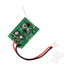 Receiver With Gyro and Servos (Aviator 400)
