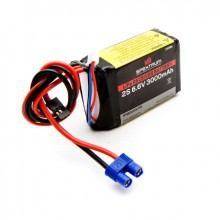 3000mAh 2S 6.6volt Li-Fe Receiver Battery