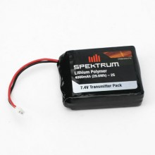DX8 4000mAh LiPo Transmitter Battery