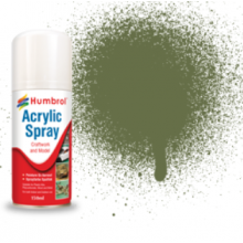 Humbrol Acrylic Spray - Brunswick Green (3)