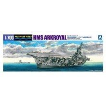 1/700th WATERLINE KIT ARK ROYAL WITH U-BOAT 81    1/700