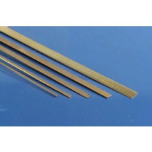 K&S Metal MKS-8242 (1) Brass Strip 0.032 x 1 x 12""
