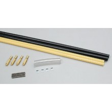 Gold-N-Rod Semi Flexible Control Rod Set (Black/Gold) 60""