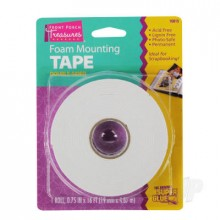Foam Mounting Tape  Double-Sided (.75in x 16ft)