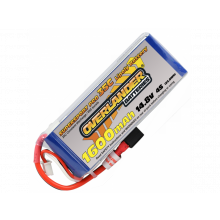 1600mAh 4S 14.8v 35C Overlander Supersport Pro-SKU 2972