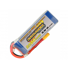 Lipo 2200mAh 3S 11.1v 30C Supersport XT60 - SKU 2646