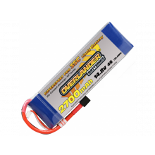 Overlander Super Sport 2900mAh 4S 14.8v 35C Lipo Battery with EC3