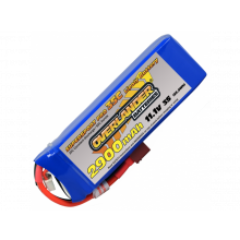 Overlander 2900mAh 3S 11.1v 35C Supersport Deans Connector