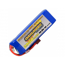 2900mAh 4S 14.8V 35C LiPo Deans Supersport Pro-SKU 2959