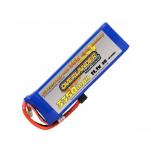 Supersport 3350mAh 3s 11.1v 35C - Deans Connector