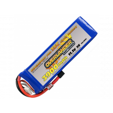 Overlander Supersport 3900mAh 3s 11.1v Lipo Batteries 30c - XT60