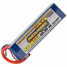 5800mAh 6S 22.2v 35C LiPo Battery - Overlander Supersport Pro