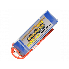Overlander Supersport 900mAh 3s 11.1v 35C Lipo Batteries