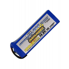10000mAh 14.8V 4S 20C Supersport XL LiPo Battery