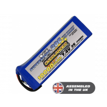 10000mAh 2S 7.4v 20C Lipo Battery SupersportXL-SKU 3015