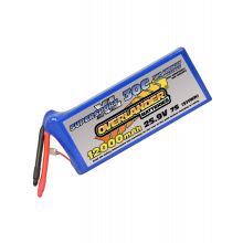 12000mAh 25.9V 7S 30C Supersport XL LiPo Battery