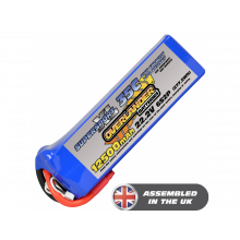 OverlanderSuper SportXL 12500mAh 6S2P 22.2v 35C LiPo Battery Made To Order