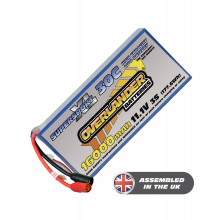 16000mAh 11.1V 3S 30C Supersport XL LiPo Battery