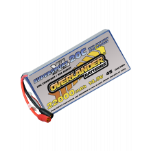 22000mAh 14.8V 4S 20C Supersport XL Lipo Battery