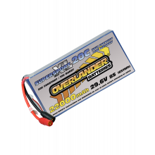 22000mAh 29.6V 8S 20C Supersport XL Lipo Battery