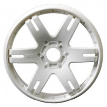SWEEP 6IX PACK 1:8TH GT WHEEL WHITE 4PC