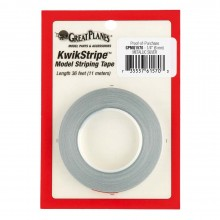 Striping Tape  Silver 1/4 Inch (6 mm)