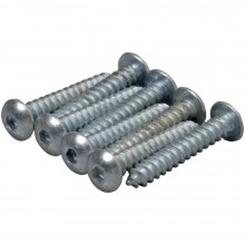 #2 x 1/2 Inch Button Head Sheet Metal Screws (8)