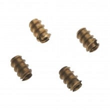 6-32 Brass Threaded Insert (4)