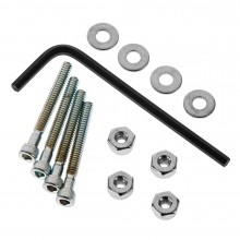 4-40 x 1 Inch Bolt Set/Lock Nuts (4)