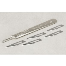 No.3 Scalpel Handle with No.11 Blades x 5