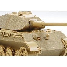 King Tiger Porsche Turret Zimmerit Sheet