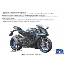 TAMIYA 14133 Yamaha YZF-R1M 1:12 Bike Model Kit
