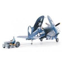Corsair F4U-1D with Moto Tug