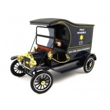 Motor City Classics 1915 Ford Model T N.Y.P.D Police Department 1:18