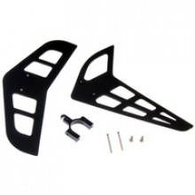 RAPIER 450 VERTICAL AND HORIZONTAL TAIL BLADE SET