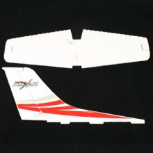 TOP GUN PARK FLITE CESSNA 182 SKYLANE TAIL WING (RED)