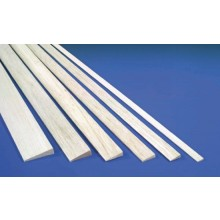 5.0mm x 19.0mm x 915mm Balsa Trailing Edge