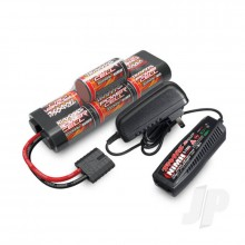 Completer Pack with 1x 2A AC NiMH Charger & 1x NiMH 8.4V 3000mAh Hump iD Battery