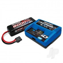 iD Completer Pack with 1x EZ-Peak Live Charger & 1x LiPo 4S 5000mAh Battery