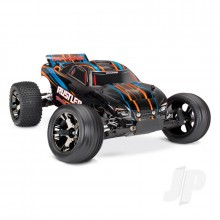 Rustler VXL: 1/10 Scale Stadium Truck with TQi Traxxas Link Enabled 2.4GHz Radio System & Traxxas Stability Management (TSM)