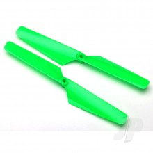 Rotor blade set green (2pcs) / 1.6x5mm BCS (2pcs)