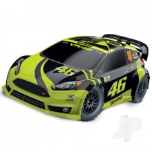 Traxxas Ford Fiesta ST Rally 1:10 Electric Rally Racer with Officially Licensed Painted Body (+ TQ)