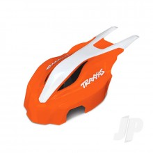 Canopy front orange / white Aton
