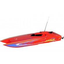 MADCAT Jr ARTR Brushless Boat - Red