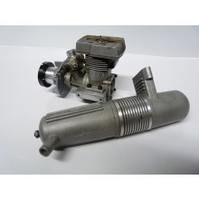 Pre-owned Thunder Tiger 36 Heli Engine with Silencer