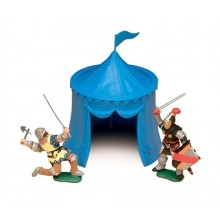 Knights Tent (Red & Blue) 1:32